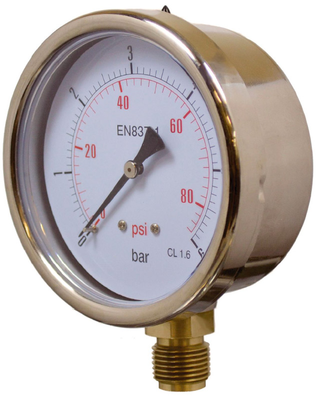 MNSTSS series Fillable Pressure Gauges