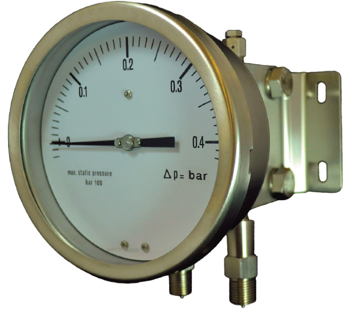 MNSS-DPM series Differential Pressure gauge with Double Diaphragm