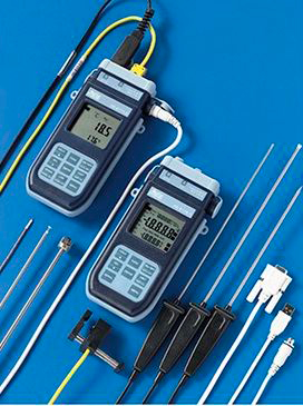 HD2178.1 and HD2178.2 series Digital Thermometers with Pt100 sensors or thermocouples