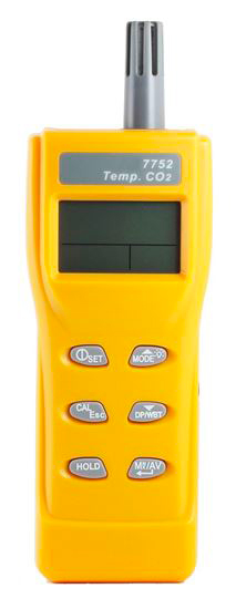 AM7752 series Handheld CO2 & Temperature meter